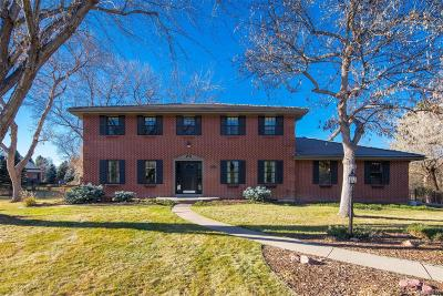 Arapahoe County Single Family Home Active: 7 South Franklin Circle