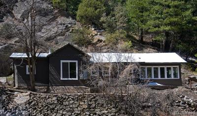 Boulder County Single Family Home Active: 5216 Fourmile Canyon Drive