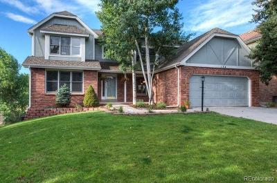Littleton Single Family Home Active: 134 Willowleaf Drive