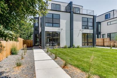 Denver Condo/Townhouse Active: 4250 Osage Street