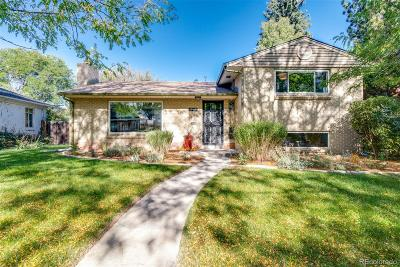 Belcaro, Belcaro/Stokes, Bonnie Brae, Pearl Mack, Polo Club, Polo Club North, Polo Grounds Single Family Home Active: 965 South Fillmore Way
