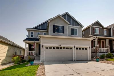 Castle Rock Single Family Home Under Contract: 1424 Morningview Lane