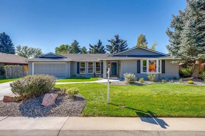 Littleton CO Single Family Home Under Contract: $584,000