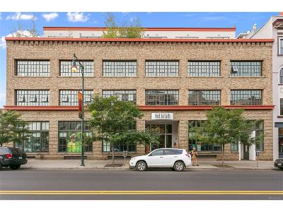 Denver Condo/Townhouse Under Contract: 1435 Wazee Street #401