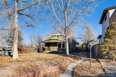Denver Single Family Home Active: 1850 South Saint Paul Street