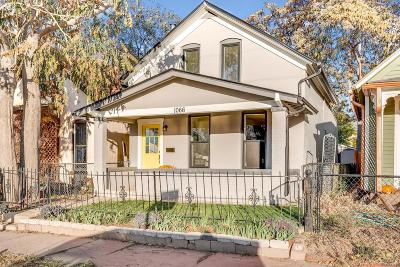 Denver Single Family Home Active: 1066 Mariposa Street