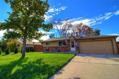 Wheat Ridge Single Family Home Under Contract: 4795 Simms Street