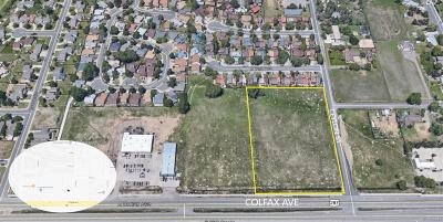 Aurora Residential Lots & Land Active: 19091 East Colfax Avenue