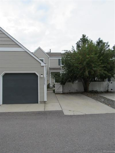 Broomfield County Condo/Townhouse Active: 2265 Sunridge Circle #34