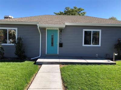 Denver Single Family Home Active: 5196 Clay Street