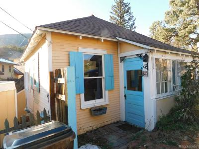 Manitou Springs Single Family Home Active: 227 Iron Road