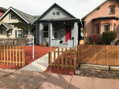 Denver Single Family Home Active: 1256 North Lipan Street