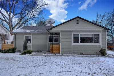 Littleton Single Family Home Active: 5275 South Grant Street