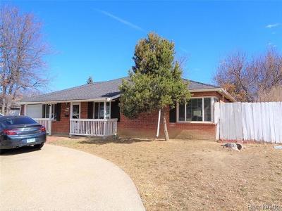 Aurora, Denver Single Family Home Active: 764 Ursula Street