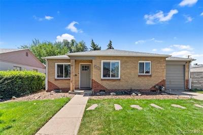 Denver Single Family Home Active: 1445 Wabash Street