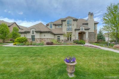 Castle Pines CO Single Family Home Active: $1,364,000