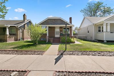 Denver Single Family Home Under Contract: 4238 Wyandot Street