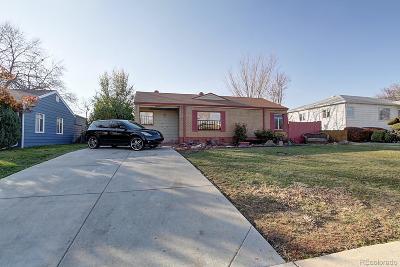 Denver Single Family Home Active: 823 South Raritan Street