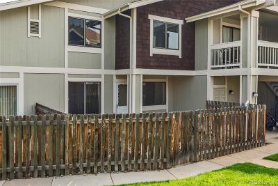 Arvada Condo/Townhouse Under Contract: 8687 Chase Drive #308
