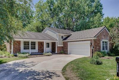 Denver Single Family Home Active: 3861 South Narcissus Way