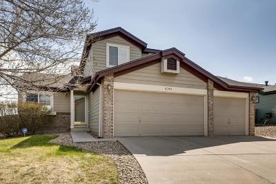 Aurora Single Family Home Active: 4790 South Danube Circle