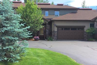 Steamboat Springs Condo/Townhouse Active: 1504 Cascade Drive #3