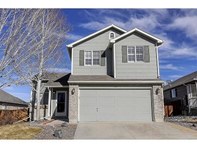 Castle Rock Single Family Home Under Contract: 3657 Rawhide Circle