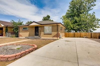 Denver Single Family Home Active: 7126 Jennie Drive