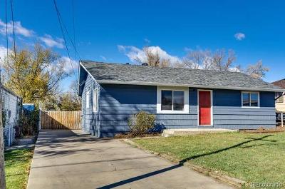 Westminster Single Family Home Under Contract: 7775 Meade Street