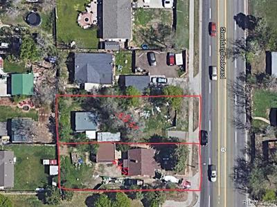 Lakewood Residential Lots & Land Active: 1545 Sheridan Boulevard