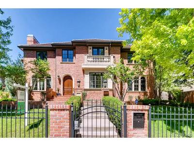 Denver Single Family Home Active: 323 Bellaire Street