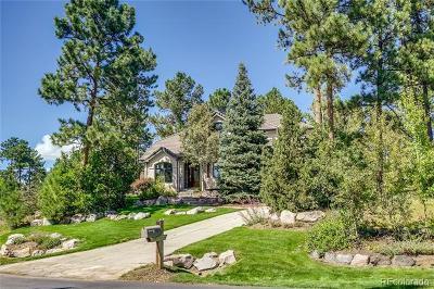 Castle Rock Single Family Home Active: 574 Castle Pines Drive