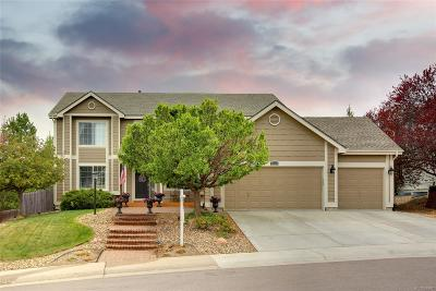 Lone Tree Single Family Home Under Contract: 7838 Barkway Court