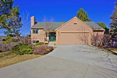 Castle Pines CO Single Family Home Under Contract: $469,900