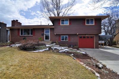 Centennial Single Family Home Under Contract: 3646 East Fair Place