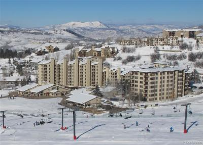 Steamboat Springs Condo/Townhouse Active: 1875 Ski Time Square Drive #312