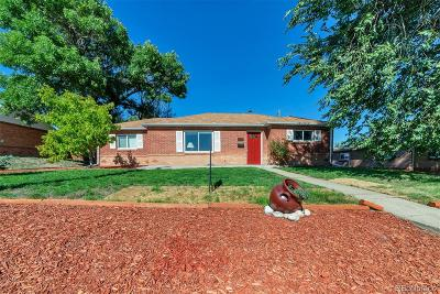 Thornton Single Family Home Under Contract: 8821 Poze Boulevard
