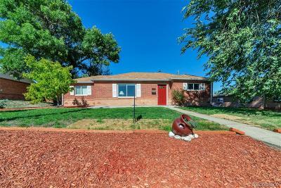 Thornton Single Family Home Active: 8821 Poze Boulevard