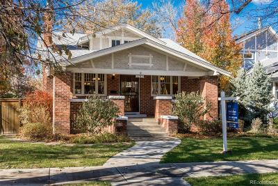 Denver Single Family Home Under Contract: 1181 South Vine Street