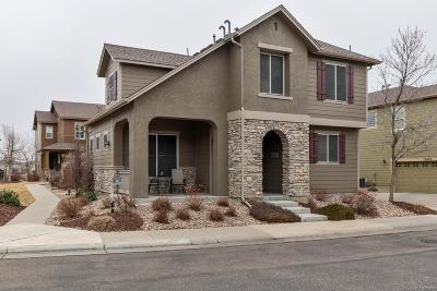 Highlands Ranch Single Family Home Under Contract: 10581 Ashfield Street