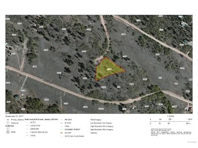Park County Residential Lots & Land Active: 82 Rawhide Court