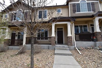 Castle Rock Condo/Townhouse Under Contract: 1292 Royal Troon Drive