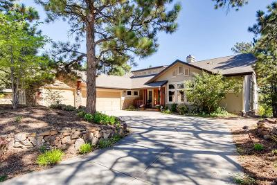 Castle Pines CO Single Family Home Under Contract: $860,000