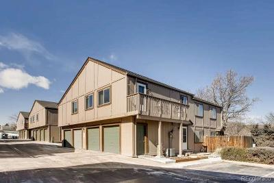Littleton Condo/Townhouse Under Contract: 7700 West Glasgow Place #5C