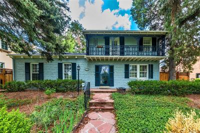 Denver Single Family Home Active: 4824 East 6th Avenue Parkway