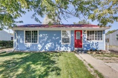 Commerce City Single Family Home Under Contract: 6331 Poplar Street