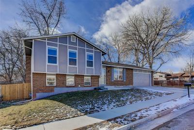 Arvada Single Family Home Under Contract: 9454 West 75th Way
