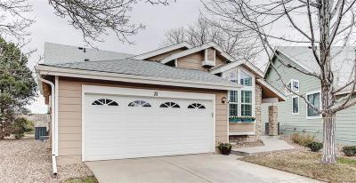 Highlands Ranch Single Family Home Active: 31 Sutherland Court