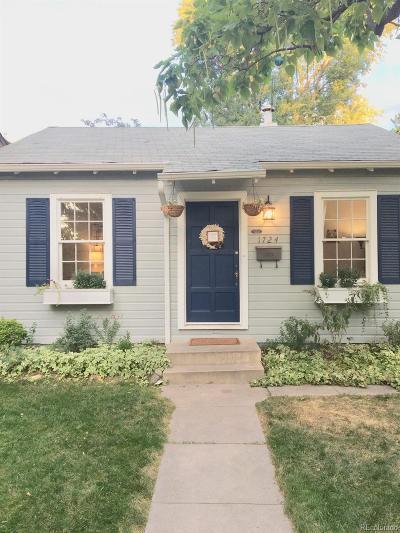 Single Family Home Active: 1724 South Corona Street