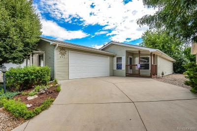 Fort Collins Single Family Home Under Contract: 882 Vitala Drive
